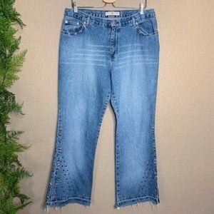 🌳 Vintage Tommy Hilfiger Hipster Flare Jeans 14